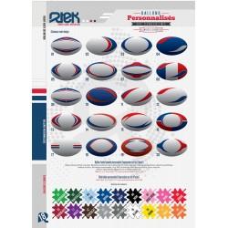 Ballons de rugby...