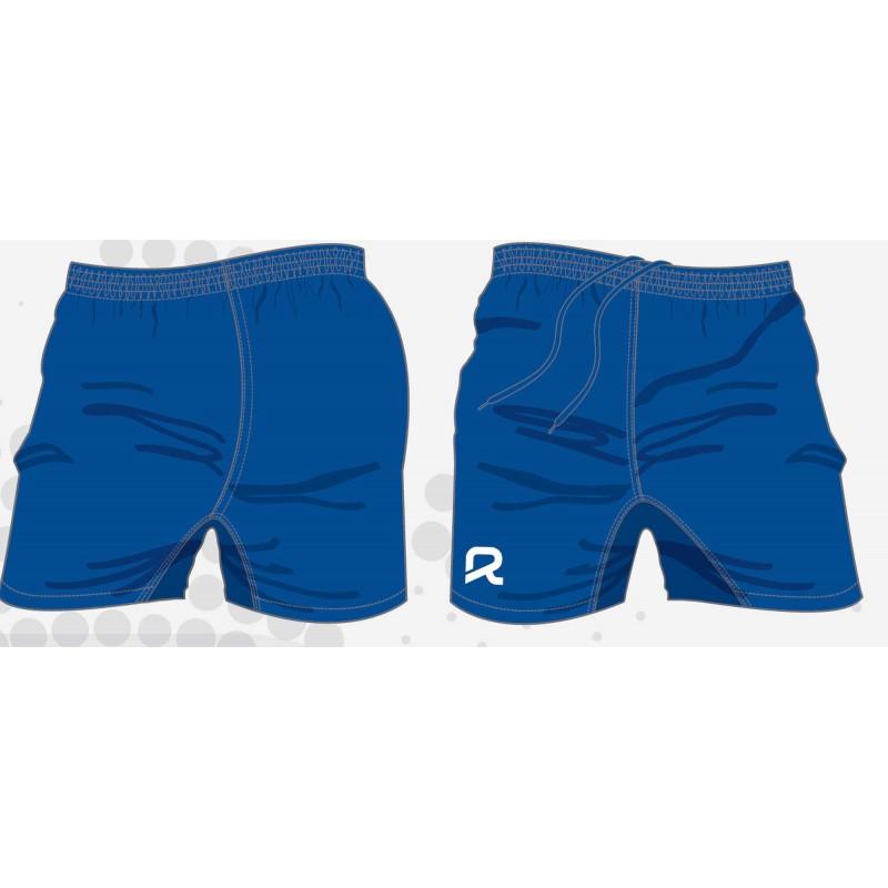 Short de rugby AKYO, bleu royal, de RTEK, en tailles Junior/Senior